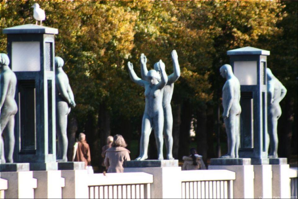 Vigeland Sculpture Park part of Frogner Park Oslo 2007 055