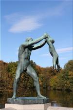 Vigeland Sculpture Park part of Frogner Park Oslo 2007 012