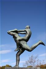 Vigeland Sculpture Park part of Frogner Park Oslo 2007 017