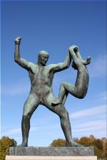 Vigeland Sculpture Park part of Frogner Park Oslo 2007 020