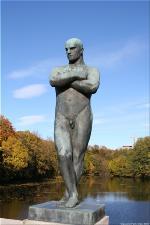 Vigeland Sculpture Park part of Frogner Park Oslo 2007 023
