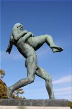 Vigeland Sculpture Park part of Frogner Park Oslo 2007 028