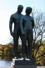 Vigeland Sculpture Park part of Frogner Park Oslo 2007 032