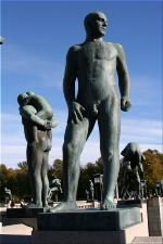 Vigeland Sculpture Park part of Frogner Park Oslo 2007 048