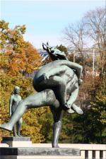 Vigeland Sculpture Park part of Frogner Park Oslo 2007 051