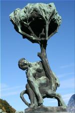 Vigeland Sculpture Park part of Frogner Park Oslo 2007 062