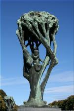 Vigeland Sculpture Park part of Frogner Park Oslo 2007 063