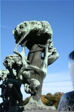 Vigeland Sculpture Park part of Frogner Park Oslo 2007 064
