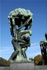 Vigeland Sculpture Park part of Frogner Park Oslo 2007 066
