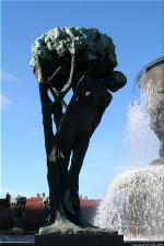 Vigeland Sculpture Park part of Frogner Park Oslo 2007 069