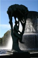 Vigeland Sculpture Park part of Frogner Park Oslo 2007 072