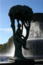 Vigeland Sculpture Park part of Frogner Park Oslo 2007 073
