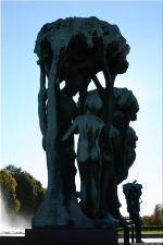 Vigeland Sculpture Park part of Frogner Park Oslo 2007 079