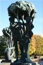Vigeland Sculpture Park part of Frogner Park Oslo 2007 083