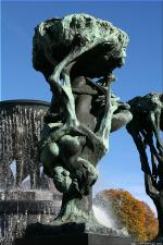 Vigeland Sculpture Park part of Frogner Park Oslo 2007 086