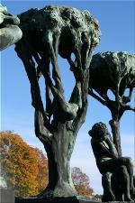 Vigeland Sculpture Park part of Frogner Park Oslo 2007 087