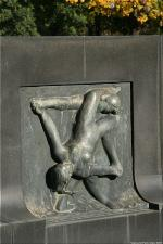 Vigeland Sculpture Park part of Frogner Park Oslo 2007 094