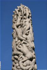 Vigeland Sculpture Park part of Frogner Park Oslo 2007 103