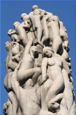 Vigeland Sculpture Park part of Frogner Park Oslo 2007 104