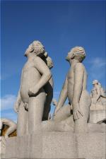 Vigeland Sculpture Park part of Frogner Park Oslo 2007 107