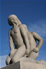 Vigeland Sculpture Park part of Frogner Park Oslo 2007 109