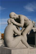 Vigeland Sculpture Park part of Frogner Park Oslo 2007 110