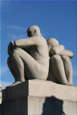 Vigeland Sculpture Park part of Frogner Park Oslo 2007 111