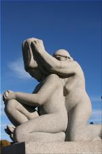 Vigeland Sculpture Park part of Frogner Park Oslo 2007 112