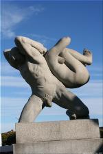 Vigeland Sculpture Park part of Frogner Park Oslo 2007 113