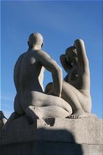 Vigeland Sculpture Park part of Frogner Park Oslo 2007 114