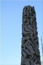 Vigeland Sculpture Park part of Frogner Park Oslo 2007 116