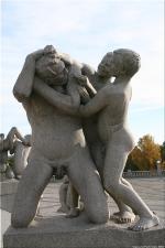 Vigeland Sculpture Park part of Frogner Park Oslo 2007 216