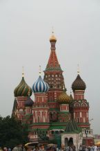 Saint Basil's Cathedral in Moscow, Russia 2005