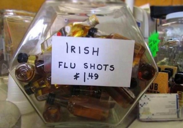 irish flu shots