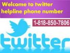 (( 1 818 850 7806 ))Twitter Customer Service Phone Number