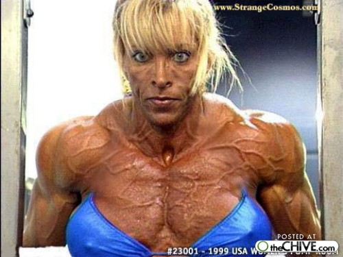 a women bodybuilder trainwreck 16 1 ... (Click to enlarge)