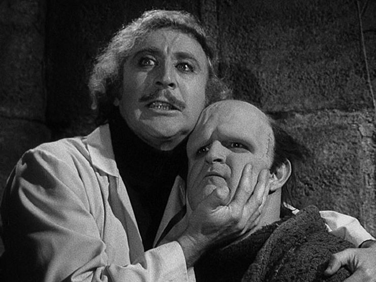 young frankenstein frankenstein comparison