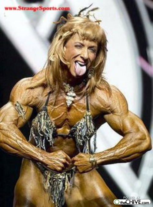 women bodybuilder trainwreck 29 1