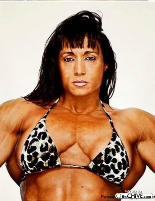women bodybuilder trainwreck 7 1 ... (Click to enlarge)