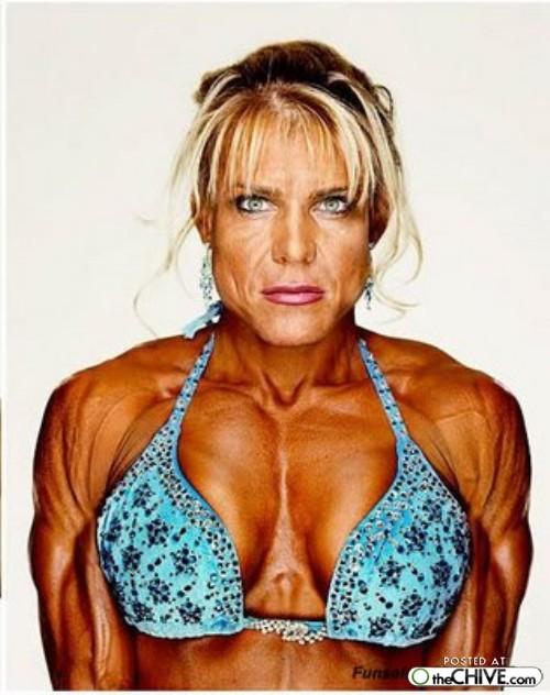 women bodybuilder trainwreck 8 1 ... (Click to enlarge)
