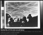 Alerted GIs of M 51 Anti aircraft Batter LIFE