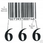666 Bar Code in RFID and M M E A verichips