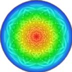 mandala 3 rainbow 25 t