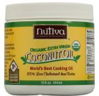 Nutiva coconut oil. Organic and unrefined
