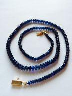 Gemisphere Exquisite Plus Blue Sapphire necklace for sale