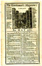 The Gentlemans Magazine 1767