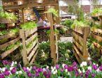 diy pallet flower garden