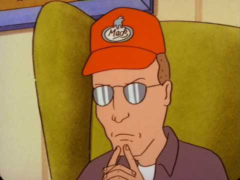 dale gribble how tall