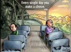 every day you make a choice