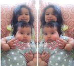 My 2 iodinated girls
